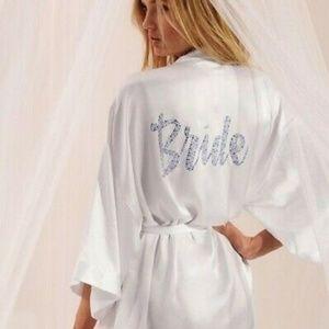 Nwt Victoria's Secret Bridal Swarvoski Crystals OS